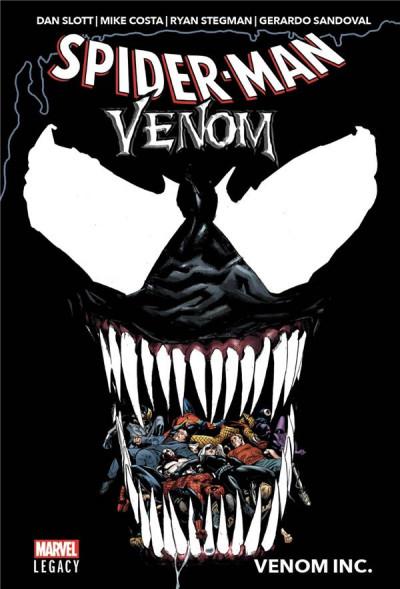Couverture Marvel legacy - Spider-man/Venom - Venom inc.