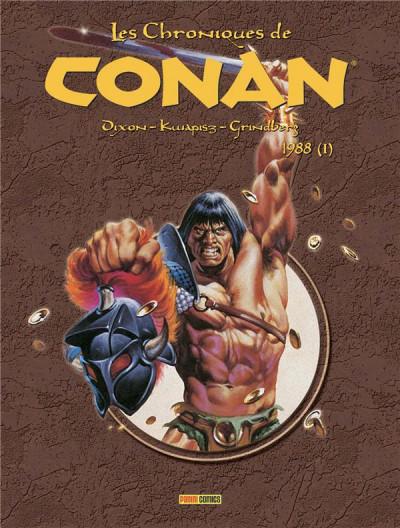 Couverture Les chroniques de Conan tome 25 - 1988 (I)