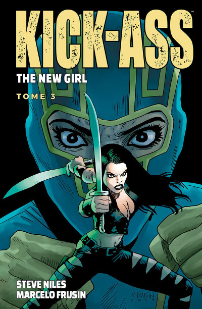 Couverture Kick ass - the new girl tome 3