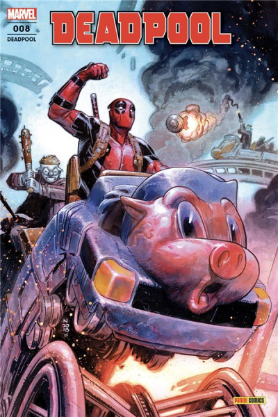 Couverture Deadpool (fresh start) tome 8