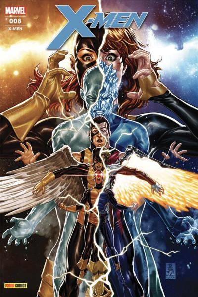 Couverture X-men (fresh start) tome 8