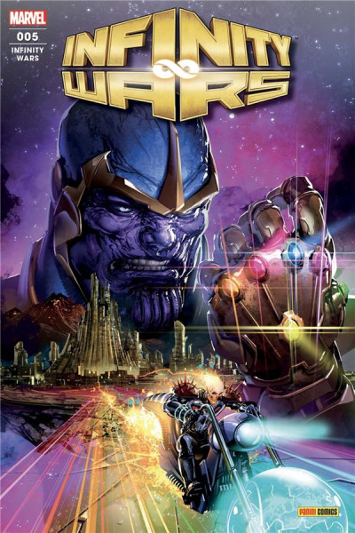 Couverture Infinity wars (fresh start) tome 5