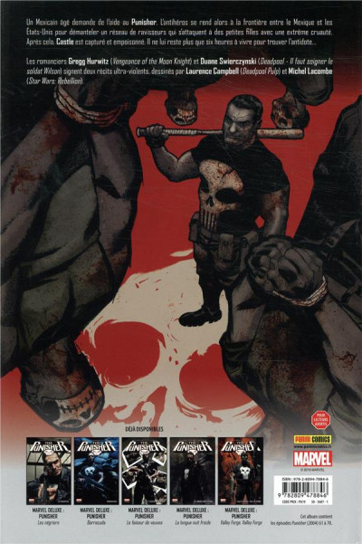 Dos Punisher max - Six heures à vivre