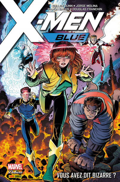 Couverture X-men blue tome 1