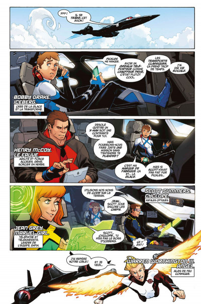 Page 7 X-men blue tome 1