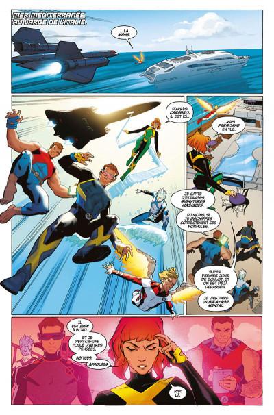 Page 8 X-men blue tome 1