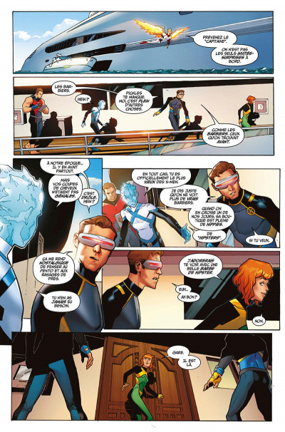 Page 9 X-men blue tome 1