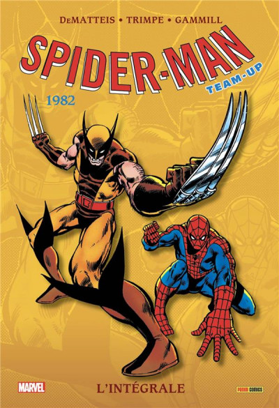 Couverture Spider-man - team up - intégrale tome 45 - 1982