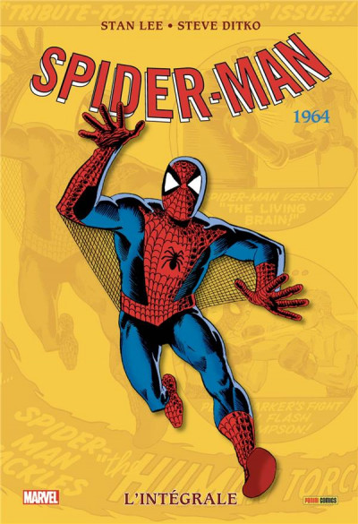 Couverture Amazing Spider-man - intégrale tome 2 - 1964