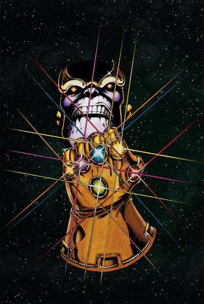 Couverture Thanos - coffret de l'infini (marvel events)
