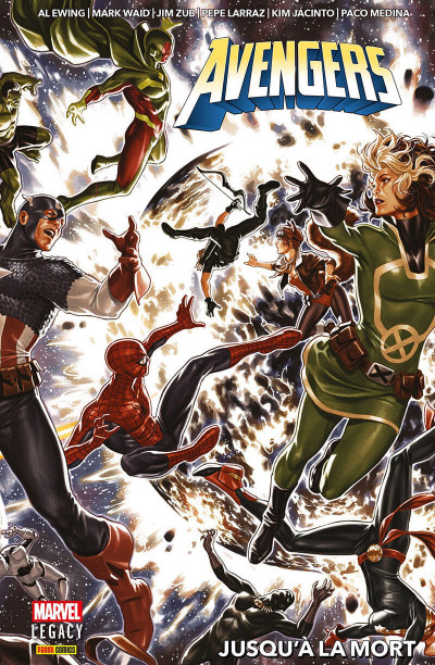 Couverture Marvel legacy - Avengers