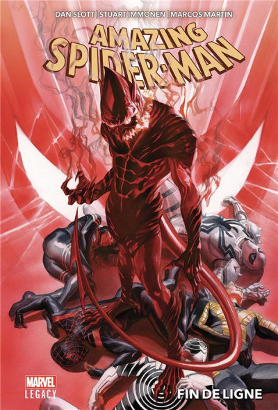 Couverture Marvel legacy - Amazing Spider-man tome 2