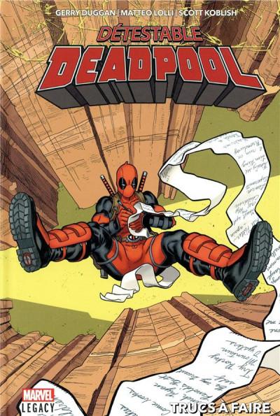 Couverture Marvel legacy - Détestable deadpool tome 2