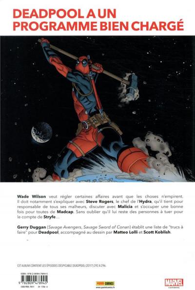 Dos Marvel legacy - Détestable deadpool tome 2