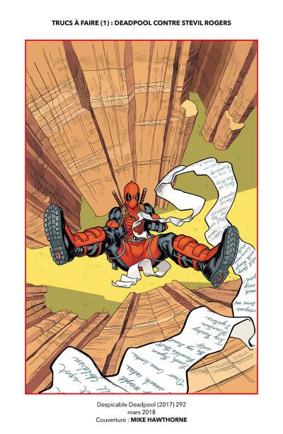 Page 4 Marvel legacy - Détestable deadpool tome 2