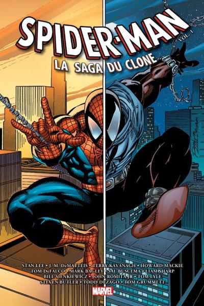 Couverture Spider-man - La saga du clone tome 1