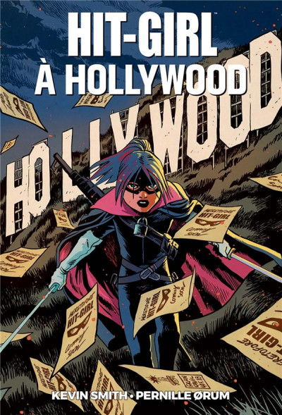 Couverture Hit girl à Hollywood