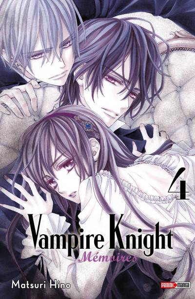 Couverture Vampire knight - mémoires tome 4