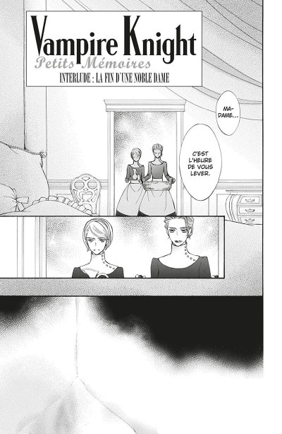 Page 5 Vampire knight - mémoires tome 4
