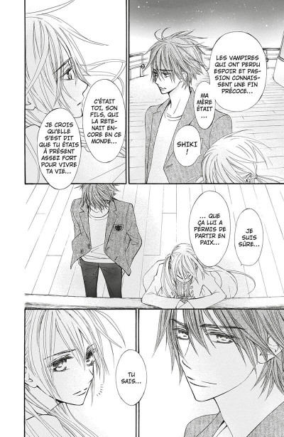 Page 8 Vampire knight - mémoires tome 4