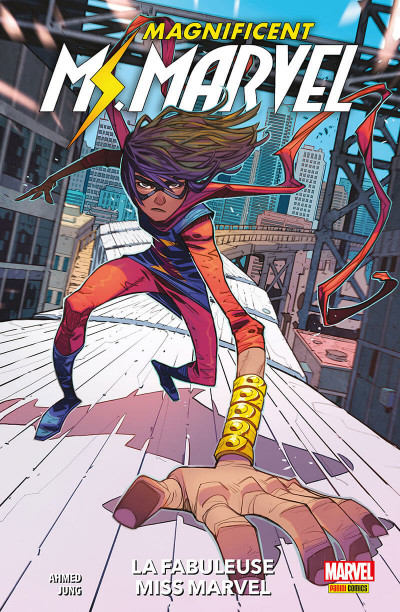 Couverture The magnificient Ms Marvel tome 1