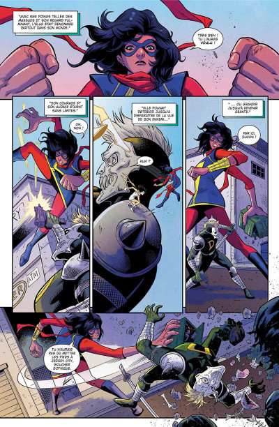Page 7 Magnificient Ms Marvel tome 1