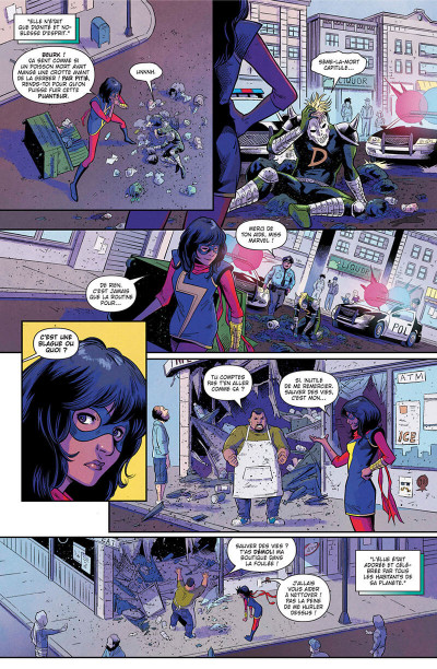 Page 8 Magnificient Ms Marvel tome 1