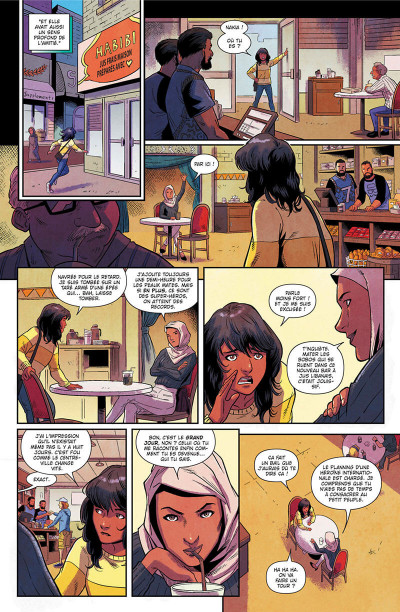Page 9 Magnificient Ms Marvel tome 1