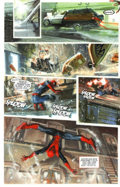 Page 1 Marvel par Dell'Otto