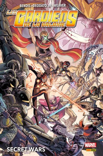 Couverture Les Gardiens de la Galaxie - Secret wars