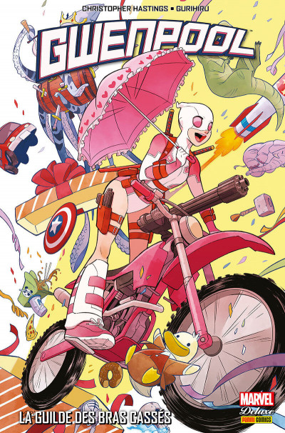 Couverture Gwenpool tome 1