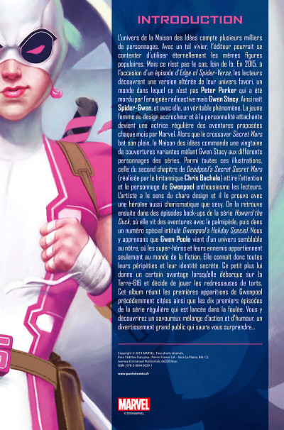Page 3 Gwenpool tome 1