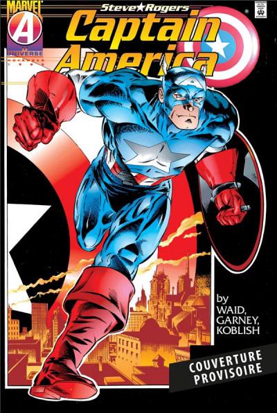 Couverture Captain America par Waid & Garney tome 1