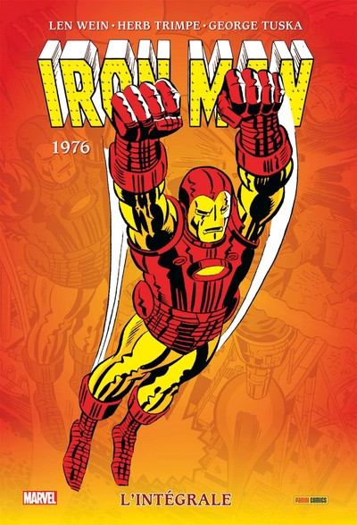 Couverture Iron Man - intégrale tome 10 - 1976