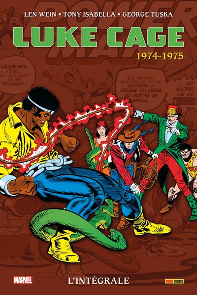 Couverture Luke Cage - intégrale tome 2 - 1974-1975