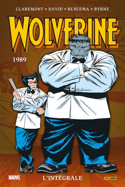Couverture Wolverine - intégrale tome 2 - 1989