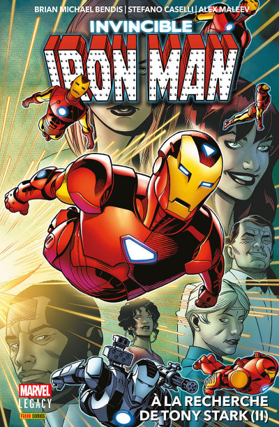Couverture Marvel legacy - Iron man tome 2