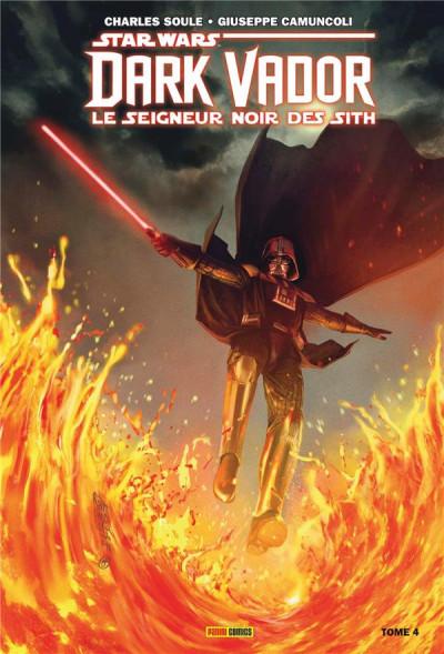 Couverture Dark Vador - Le seigneur noir des sith tome 4