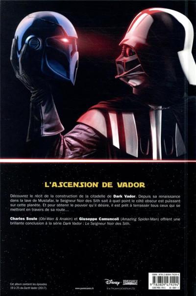 Dos Dark Vador - Le seigneur noir des sith tome 4