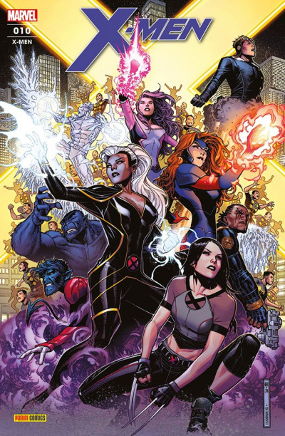 Couverture X-Men (fresh start) tome 10