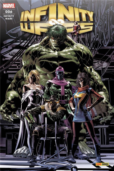 Couverture Infinity wars (fresh start) tome 6