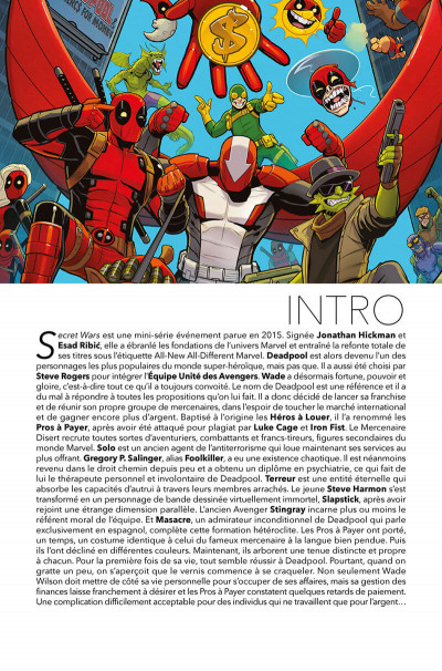Page 4 Deadpool et les pros à payer