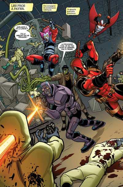 Page 8 Deadpool et les pros à payer