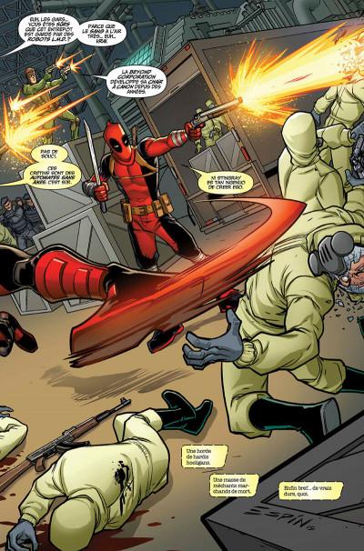 Page 9 Deadpool et les pros à payer