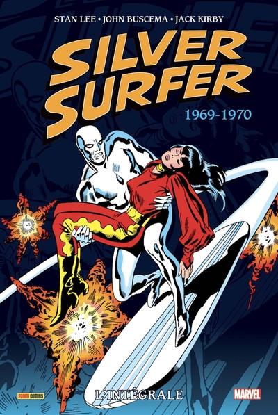 Couverture Silver Surfer - intégrale tome 2