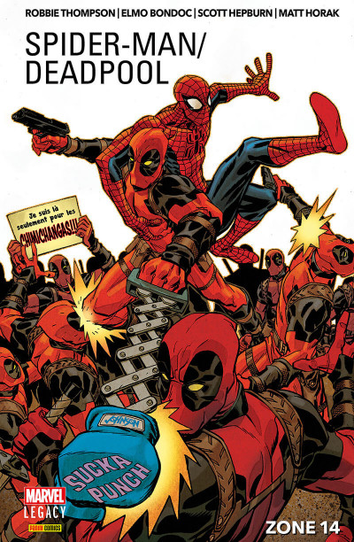Couverture  Marvel legacy - Spider-man / Deadpool tome 2