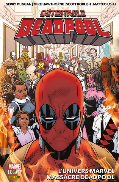 Couverture Marvel legacy - Détestable Deadpool tome 3
