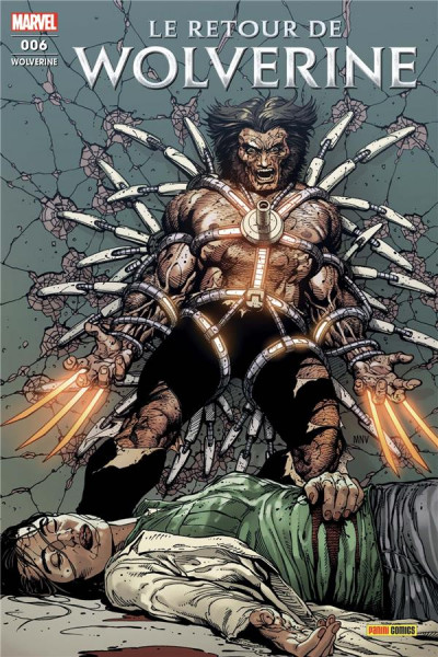 Couverture Wolverine (fresh start) tome 6