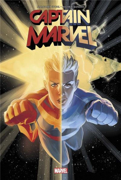 Couverture Captain Marvel - Dark origins