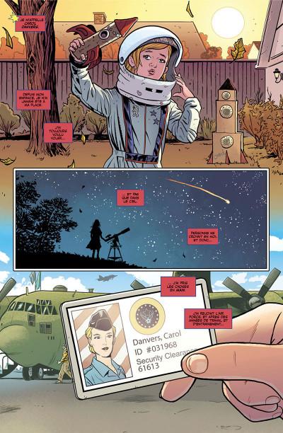 Page 5 Captain Marvel - Dark origins